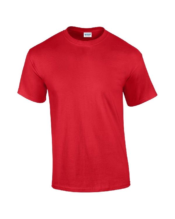 Gildan póló piros