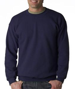 Gildan pulóver navy (s.kék)