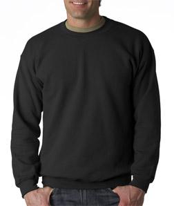 Gildan pulóver fekete