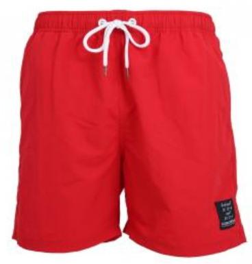 Ceceba úszóshort (bermuda)-piros