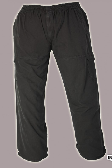 Gumis derekú vászon nadrág