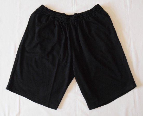 Pamut bermuda-fekete