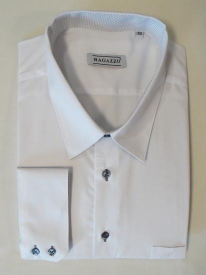 Fehér díszített ing-Ragazzo