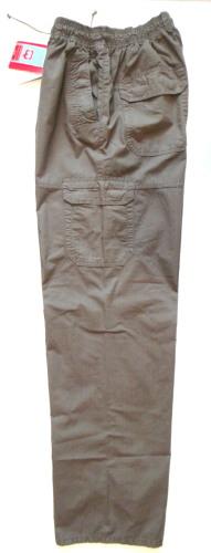 Gumisderekú oldalzsebes vászon nadrág