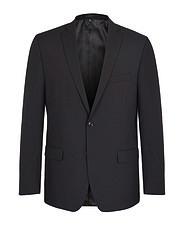 Félgyapjú öltöny - fekete