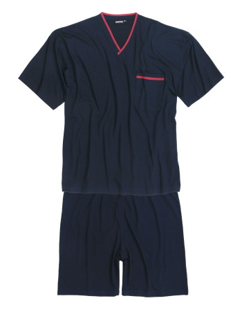 Pizsama rövid nadrággal